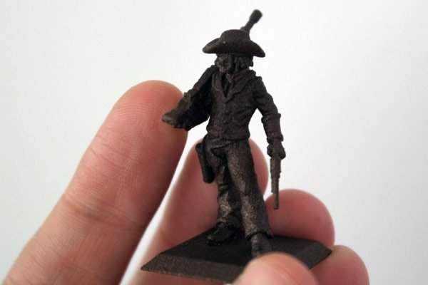 steel 3d printed miniature