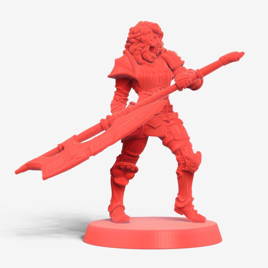 Iolanth female warrior