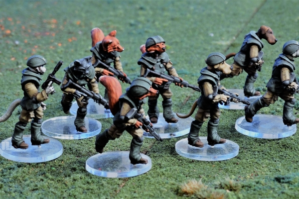 albedo patrol custom miniatures for kickstarter