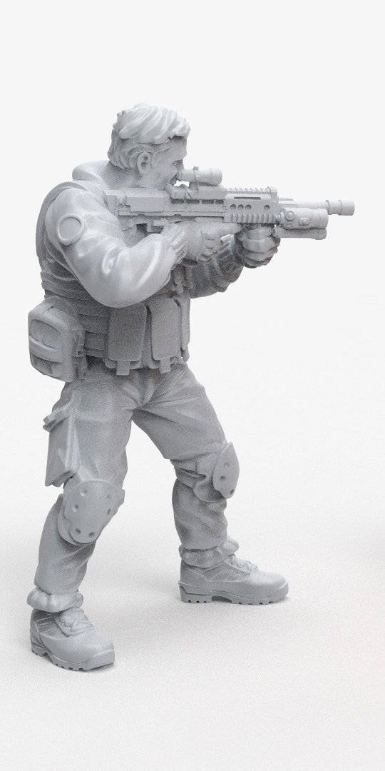 UK NATO soldier